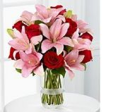ROSES & LILIES SPECIAL!!  Reg. $120.00 in Prospect, CT | MARGOT'S FLOWERS & GIFTS