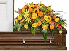 SEASONAL REFLECTIONS Funeral Flowers in Deer Park, TX | BLOOMING CREATIONS FLOWERS & GIFTS