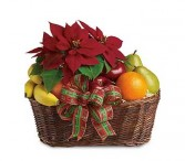Seasons Greetings Fruit/Gift Basket