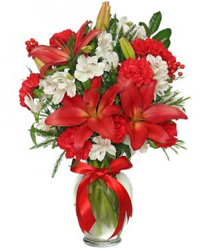 Season's Greetings Arrangement in Buford, GA | SIAM IMPORTS INC.