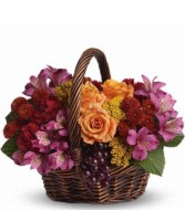 Sending Joy  Floral Basket (T173-3A) in Fairbanks, AK | A BLOOMING ROSE FLORAL & GIFT