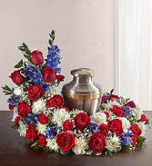 Service Member Tribute Cremation Ring