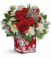 Silver Christmas Bouquet Teleflora Christmas T16X600A