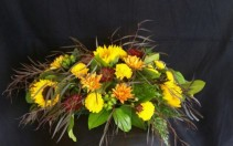 Simple Sunflower  Centerpiece