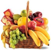 SIMPLY DELICIOUS FRUIT & GOURMET BASKET in Clarksburg, MD | GENE'S FLORIST & GIFT BASKETS
