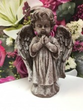 Small Praying Angel Garden or Home Decor