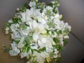 Soft and Pretty Bridal Bouquet