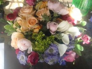 Sping flower bowl High End in Pittsfield, MA | NOBLE'S FARM STAND AND FLOWER SHOP
