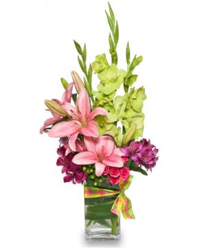 Soothing Springtime Arrangement in Burbank, CA | LA BELLA FLOWER & GIFT SHOP