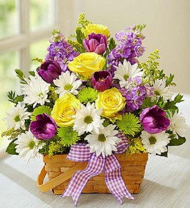 Springtime Wishes  Fresh Arrangement in Vienna, WV | FOX'S FLORAL AND GIFTS