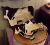 Stackable Cow Plates