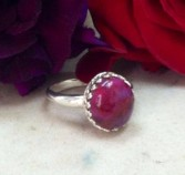Sterling Silver Filagree Ring SZ 8