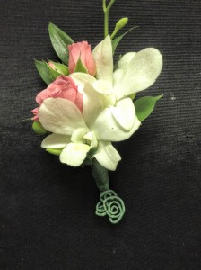 Stunning Orchid Boutonniere Prom or Wedding in Colts Neck, NJ | GREENHOUSE GALLERY
