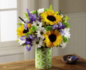 Sunlit Sweetness Bouquet in Bryan, OH | Farrell's Lawn & Garden and Flowers