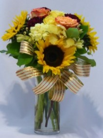 SUNNY PHASES -  Thanksgiving Fall Galla Flowers