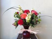 Sweet Thoughts Custom Fitzgerald Flowers Arrangement