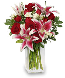SWEETLY-SCENTED Bouquet of Flowers