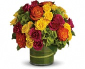 T74-1A-Blossoms In Vogue Thanksgiving, Halloween,Summer, Get Well, Birthday