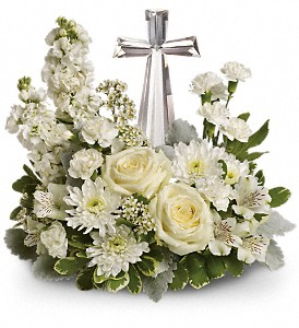 Teleflora's Divine Peace Bouquet  Fresh Arrangement in Vienna, WV | FOX'S FLORAL AND GIFTS