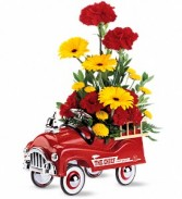 Telelfora Fire Engine Bouquet