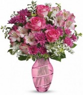 TF Pink Bliss All Around Posy