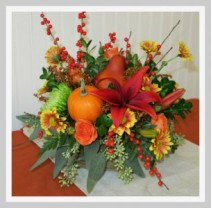 Bountiful Bouquet Centerpiece