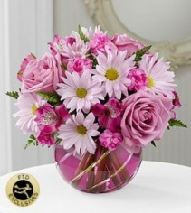 The FTD Radiant Blooms Bouquet Flower Arrangement