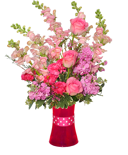 the love of my life arrangement of flowers  valentine's day, Beautiful flower