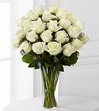 The White Rose Bouquet by FTD® -  E8-4812 in Bowerston, OH | LADY OF THE LAKE FLORAL & GIFTS