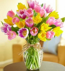 Timeless Tulips Easter Arrangments