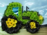 Tractor Funeral Piece