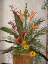 TROPICAL EXPLOSION Arrangement in East Hampton, CT | ESPECIALLY FOR YOU