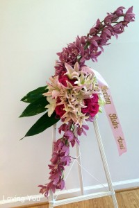 Tropical Pink Standing Spray