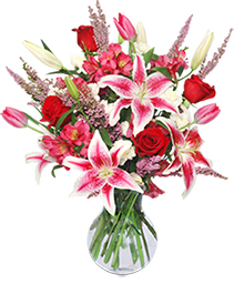TRUE LOVE BLOOMS Floral Arrangement