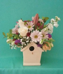 Tweet Tweet Flower Arrangement