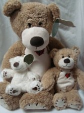 These adorable bears can be added...just select   the price. Small (7