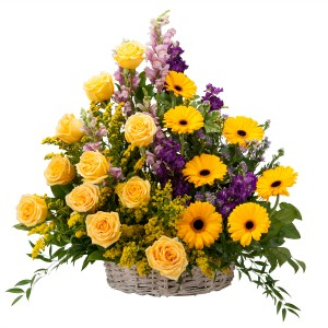 VIVID MEMORIES  Basket in Moore, OK | A New Beginning Florist