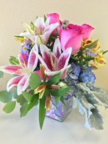 Well Wishes  Arrangement of Flowers