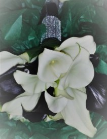 White & Black Callas