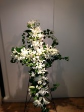 White Roses & Lilies ve-109