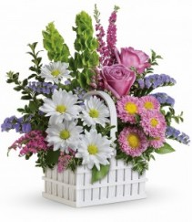 White Picket Bouquet By Teleflora