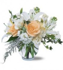 White Roses & Lilies Joy of love