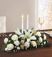 White Wonder Centerpiece