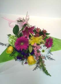 Wrapped Mixed Bouquet T&V Exclusive