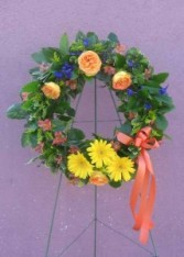 Wreath 4 Wreaths, and Crosses