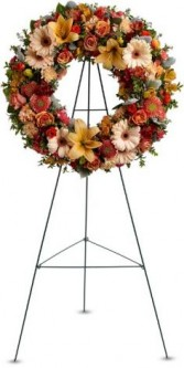 Wreath of Remembrance  Funeral Spray