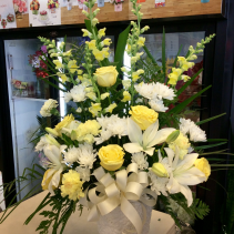 Yellow and white tribute  Tribute