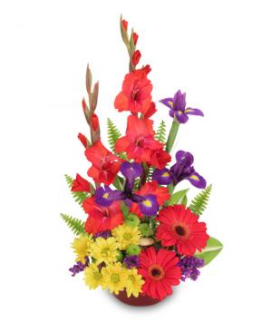 Zest for Life Bouquet in Bryson City, NC | VILLAGE FLORIST & GIFTS