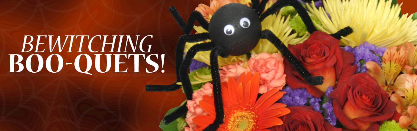 Shop Halloween Flowers Now