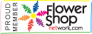 Proud member of flowershopnetwork.com